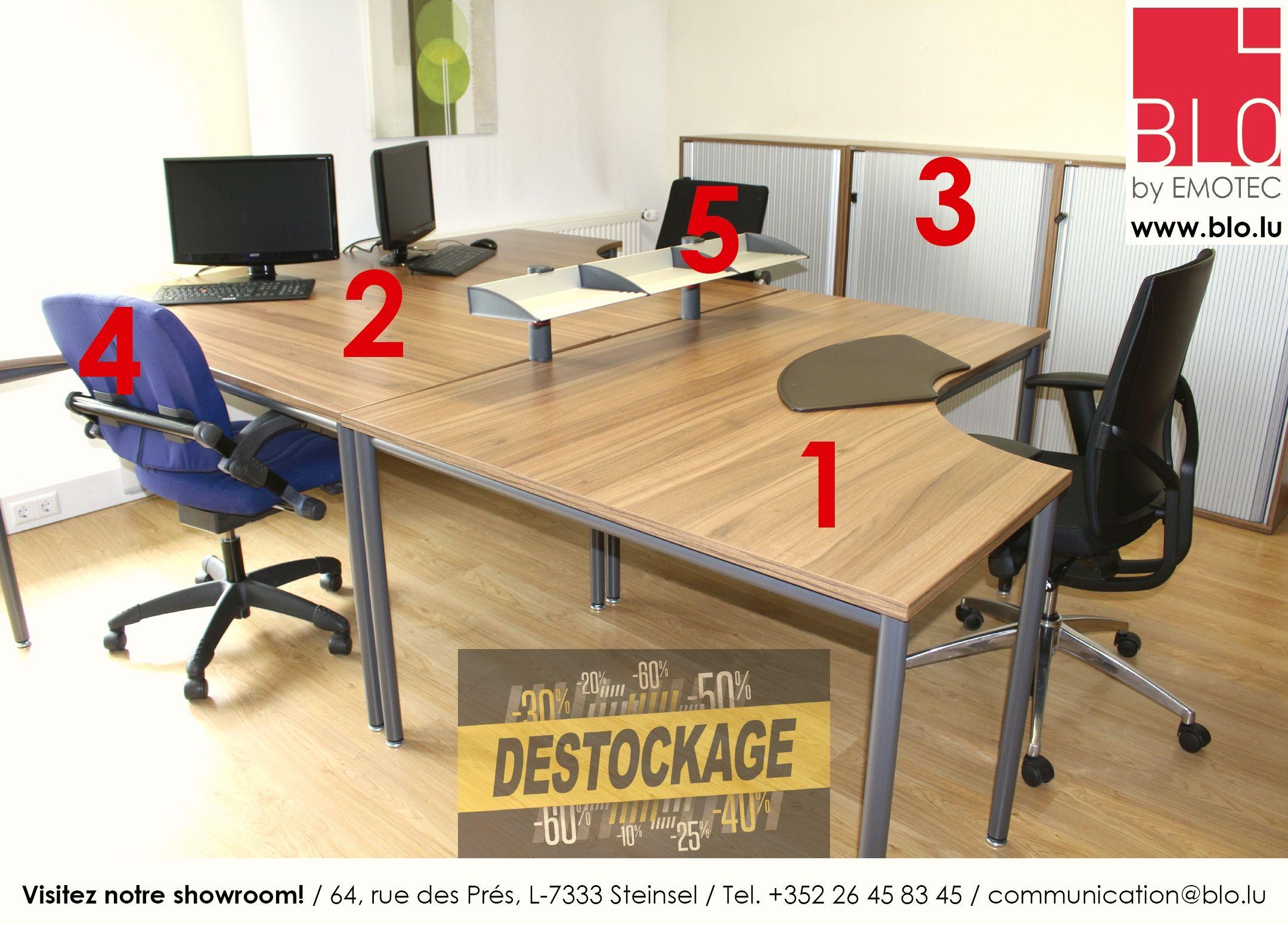 emporter 4 et 5 chaise bureau 2x