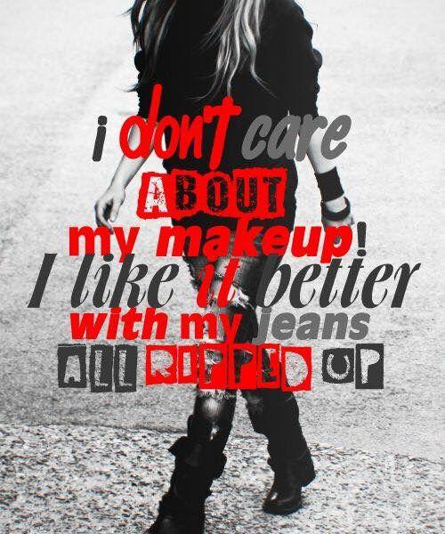 Rock N Roll Avril Lavigne Song Quotes Avril Lavigne Lyrics