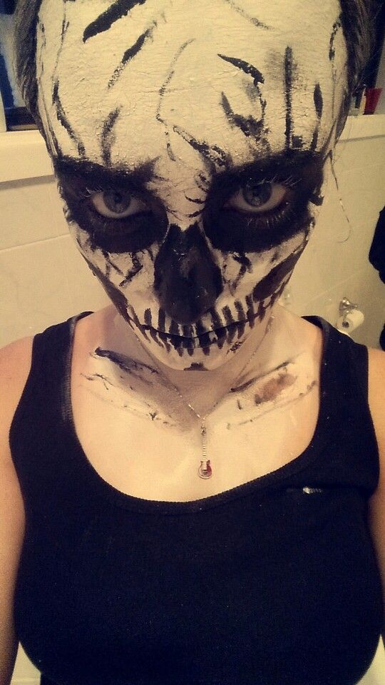 Here goes nothing.. this is me.. self taught spfx makeup artist and this is one of my first looks :)