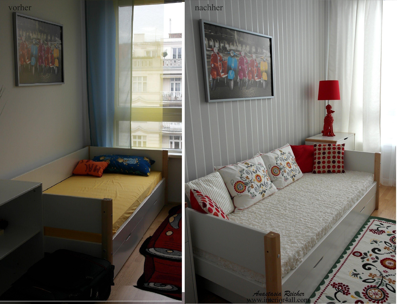 Schlafzimmer Gestalten Vorher Nachher With Images Small Living