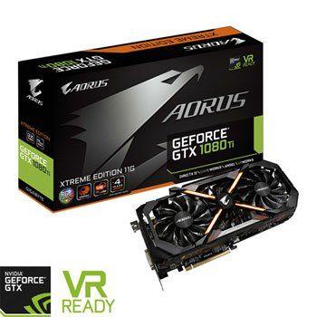 Aorus Nvidia Geforce Gtx 1080 Ti 11gb Xtreme Edition Graphic Card Gigabyte Video Card