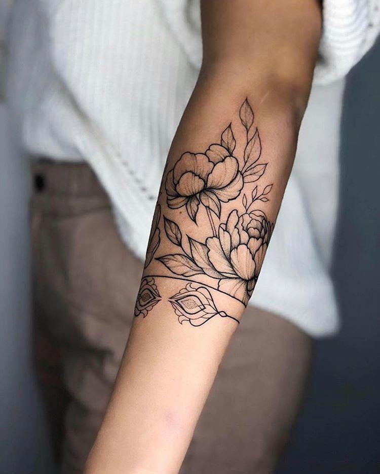 Mandala tattoo unterarm frau Mandala Tattoo