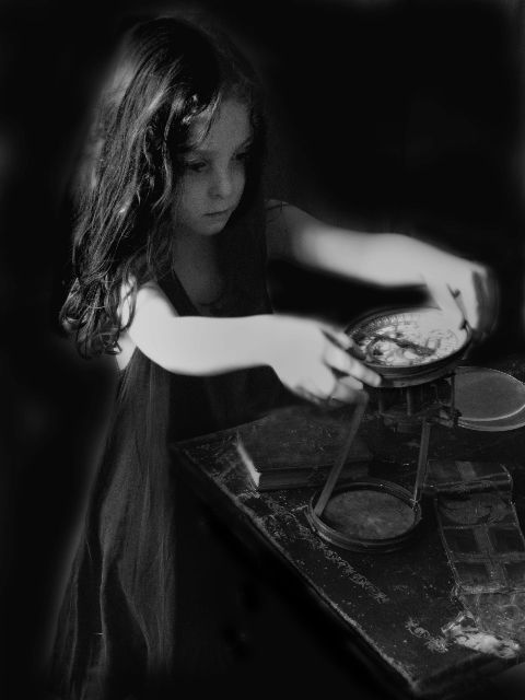 The Little Alchemist, by Josephine Sacabo.