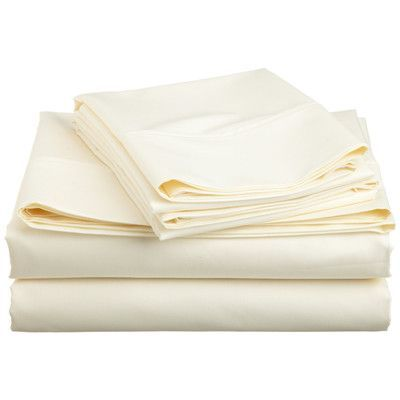 White Impressions XL Cotton Flannel Twin XL Sheet Set Solid