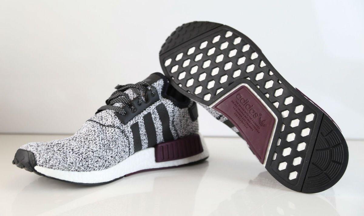 Champs Sports x adidas NMD White/Black-Burgundy