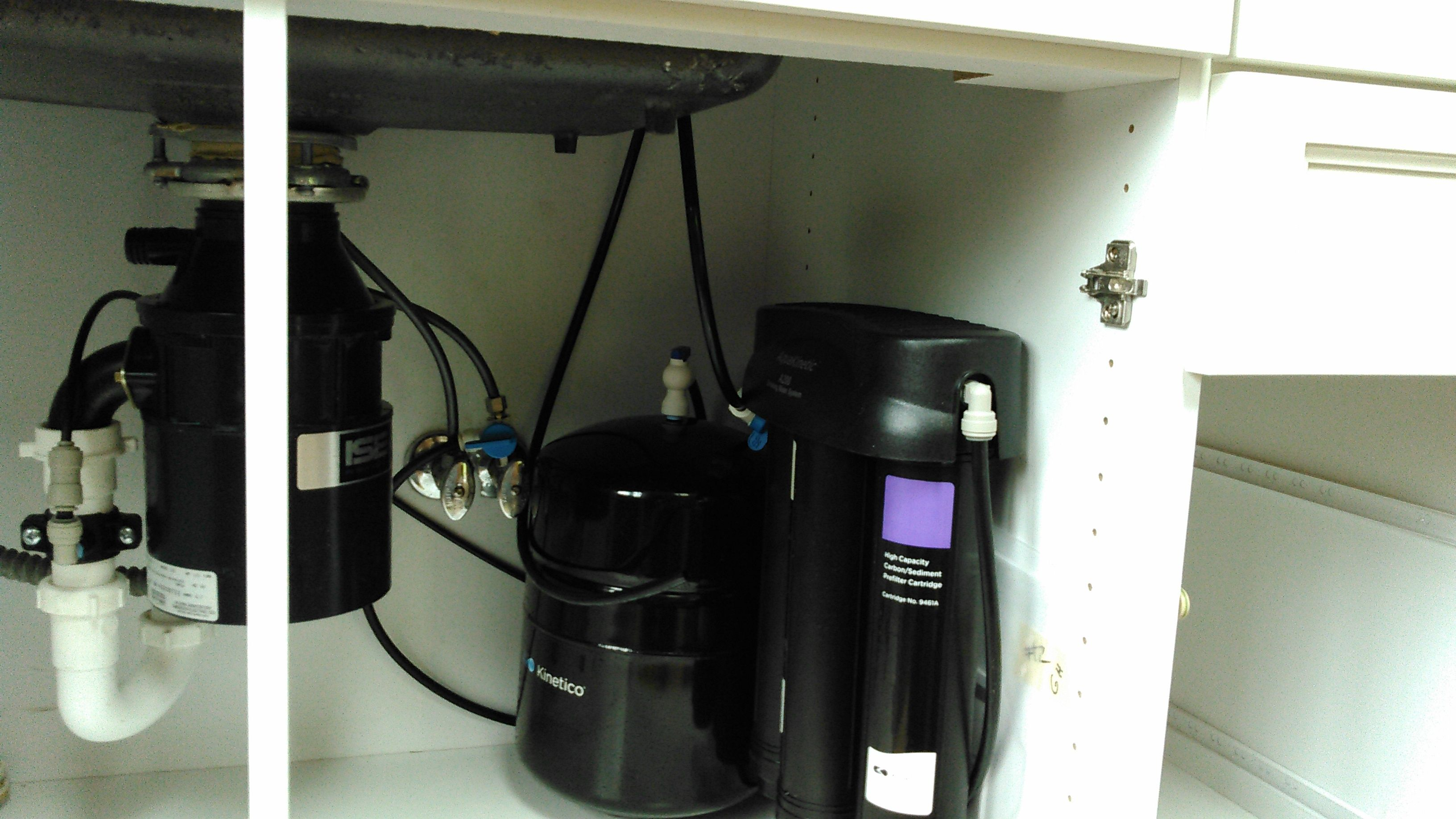 Drinking Water System Install Under The Sink Of This Orono Mn Estate Guest House Water Projects Orono Drinking Water