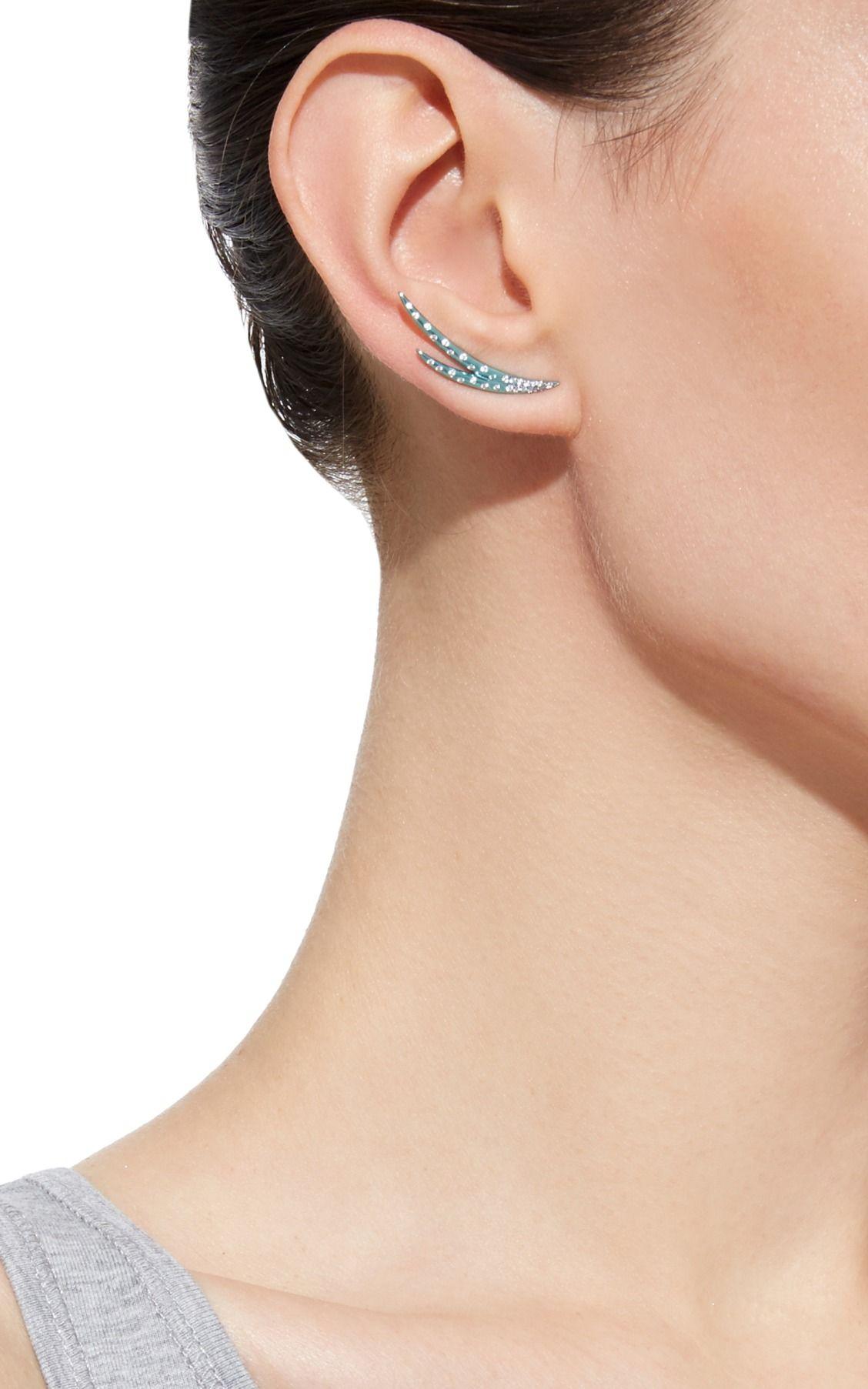 33f10565a Aqua Earring by AS29   Moda Operandi   Jewelry   Jewelry, Fine ...