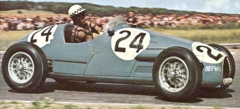 #24 Jean Behra (F) - Gordini T16 (Gordini 6) 6 (17) Equipe Gordini