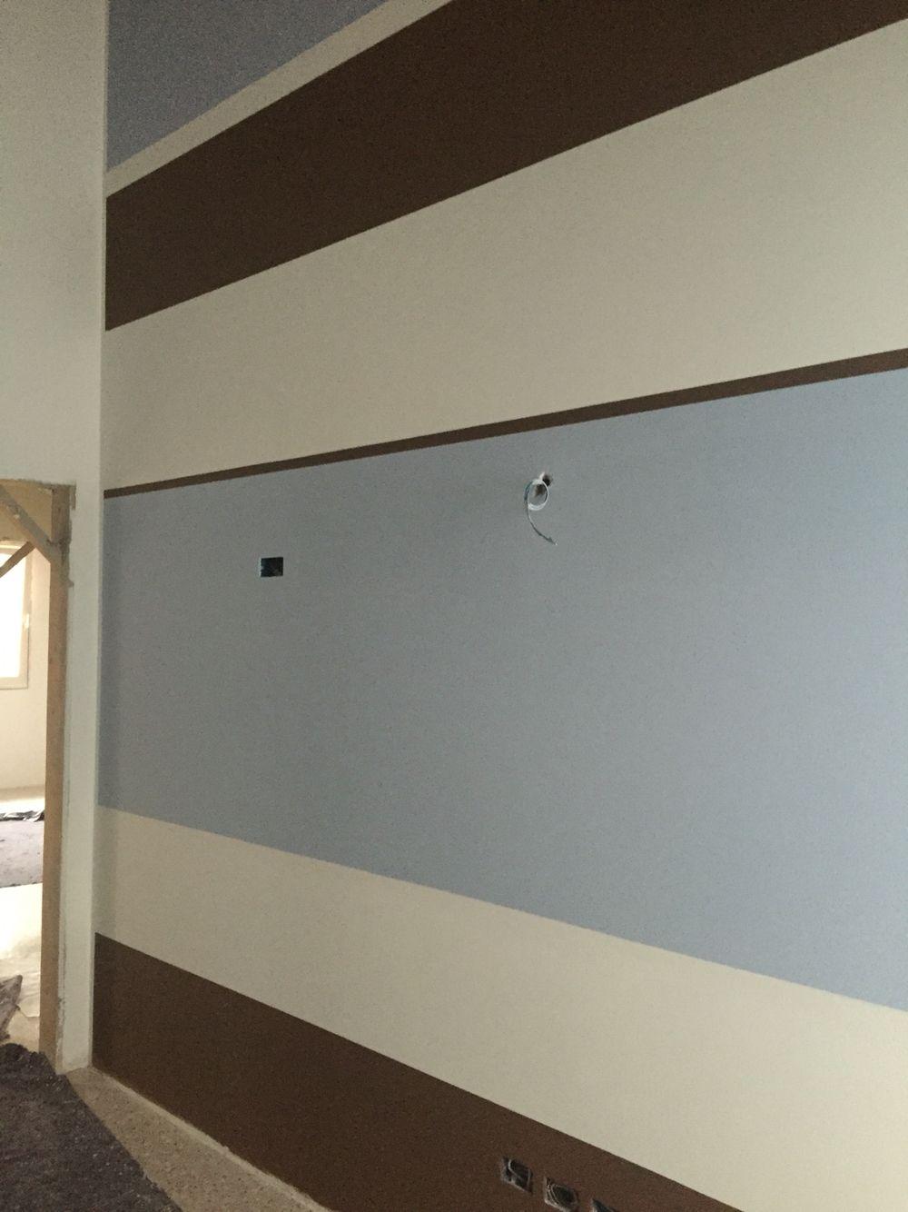 Parete a righe per cameretta colori pareti pinterest - Scala decorativa ikea ...