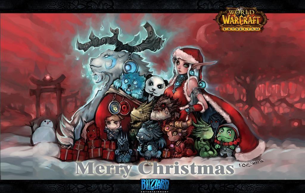 world of warcraft legion hearthstone - World Of Warcraft Christmas