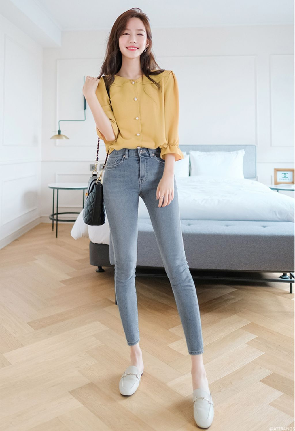 8+ Best Combinations Jeans And Blouse For Women Fashion  Korean