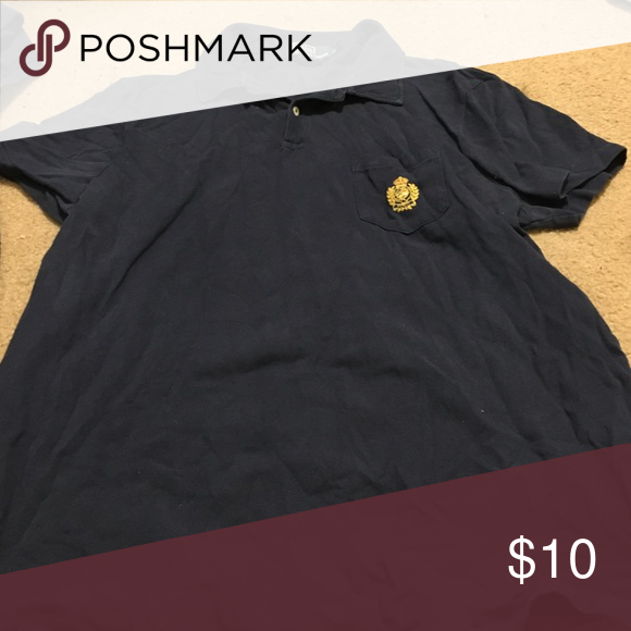 navy polo size XL pocketed polo Polo by Ralph Lauren Shirts Polos