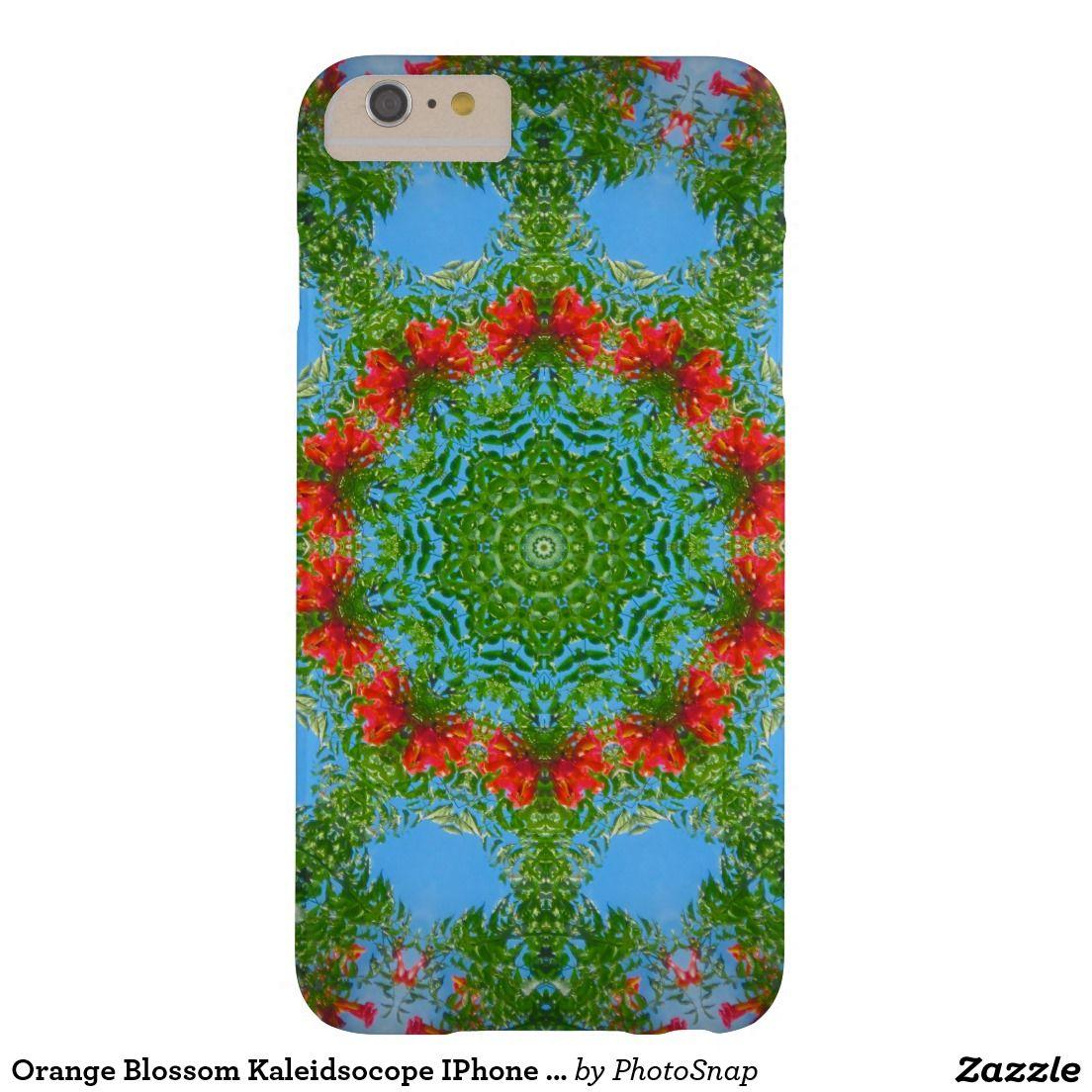 Orange Blossom Kaleidsocope IPhone 6 Plus Case