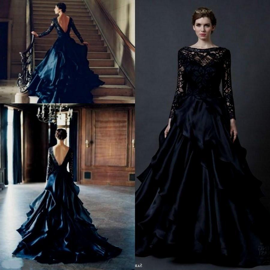 Pin by Savannah H. on Black Wedding Gowns Black wedding
