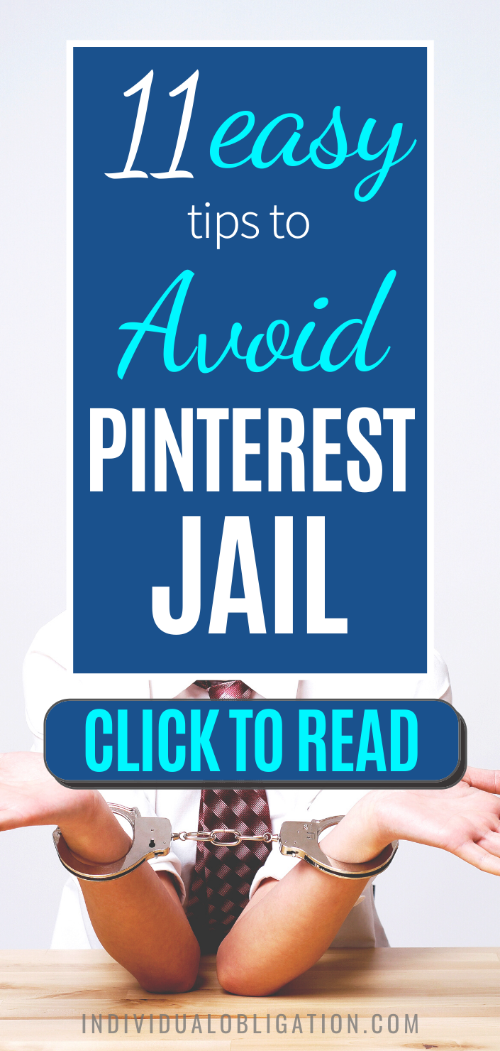 Worried about getting your Pinterest account suspended or ending up in Pinterest jail? These Pinterest marketing tips for bloggers will help with keeping your Pinterest business account safe. As it can hurt your Pinterest marketing + blog traffic long term. Click here for this how to use Pinterest for business tutorial to avoid these common mistakes that can get your Pinterest blocked #PinterestMarketing #PinterestSuspended #BloggingTips #SocialMediaTips #PinterestTips #BlogTraffic #BlogTips