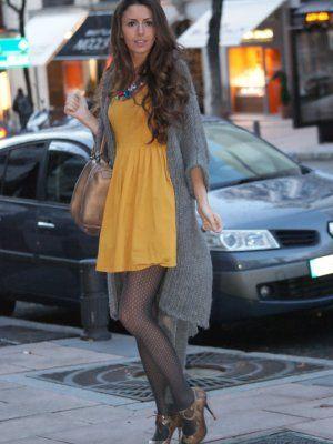 Noheels-Noparty Outfit Punto Casual Dorado Animal Print Lady Cardigan Gris Bohemio Snake Grey ...