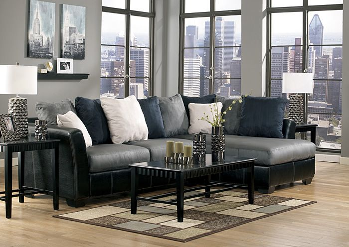 Nice Jerusalem Furniture | Philadelphia, PA | Furnish 123 Masoli Cobblestone  Chaise End Sectional