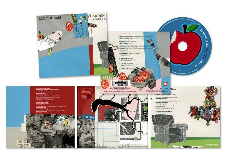 """CD-Cover """"LEMONGRASS"""" Garden"""