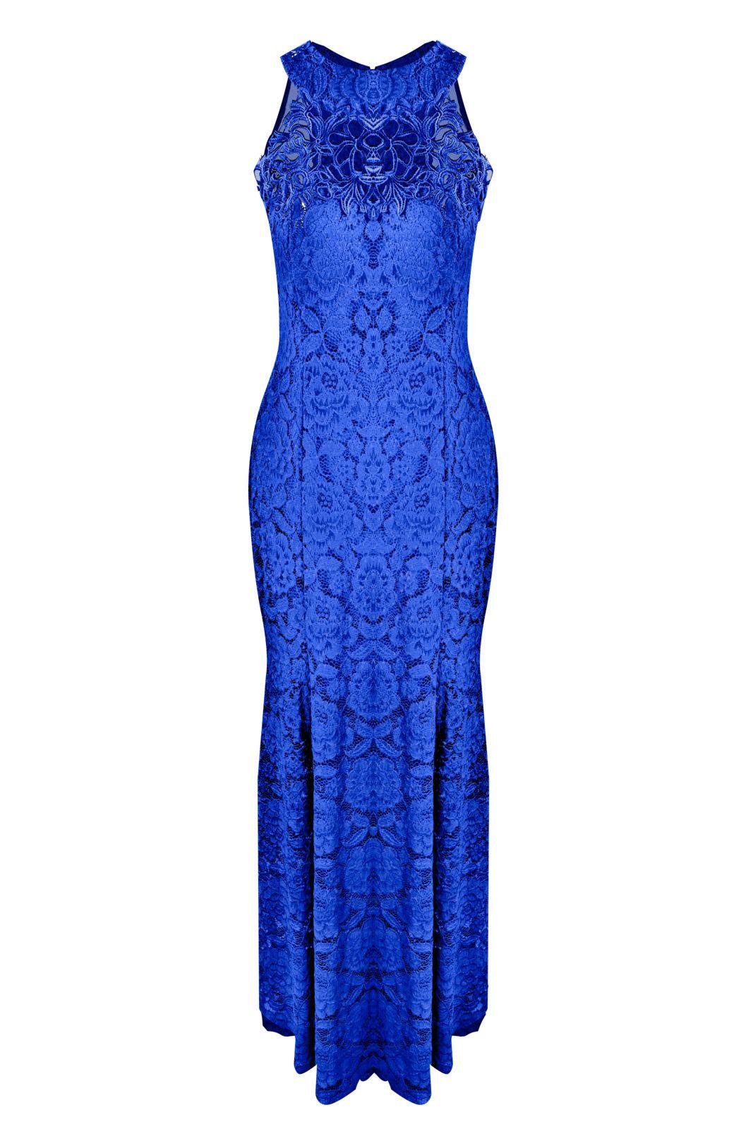 Vestido de Renda Azul Marinho Longo Como Usar?   Rendas azul