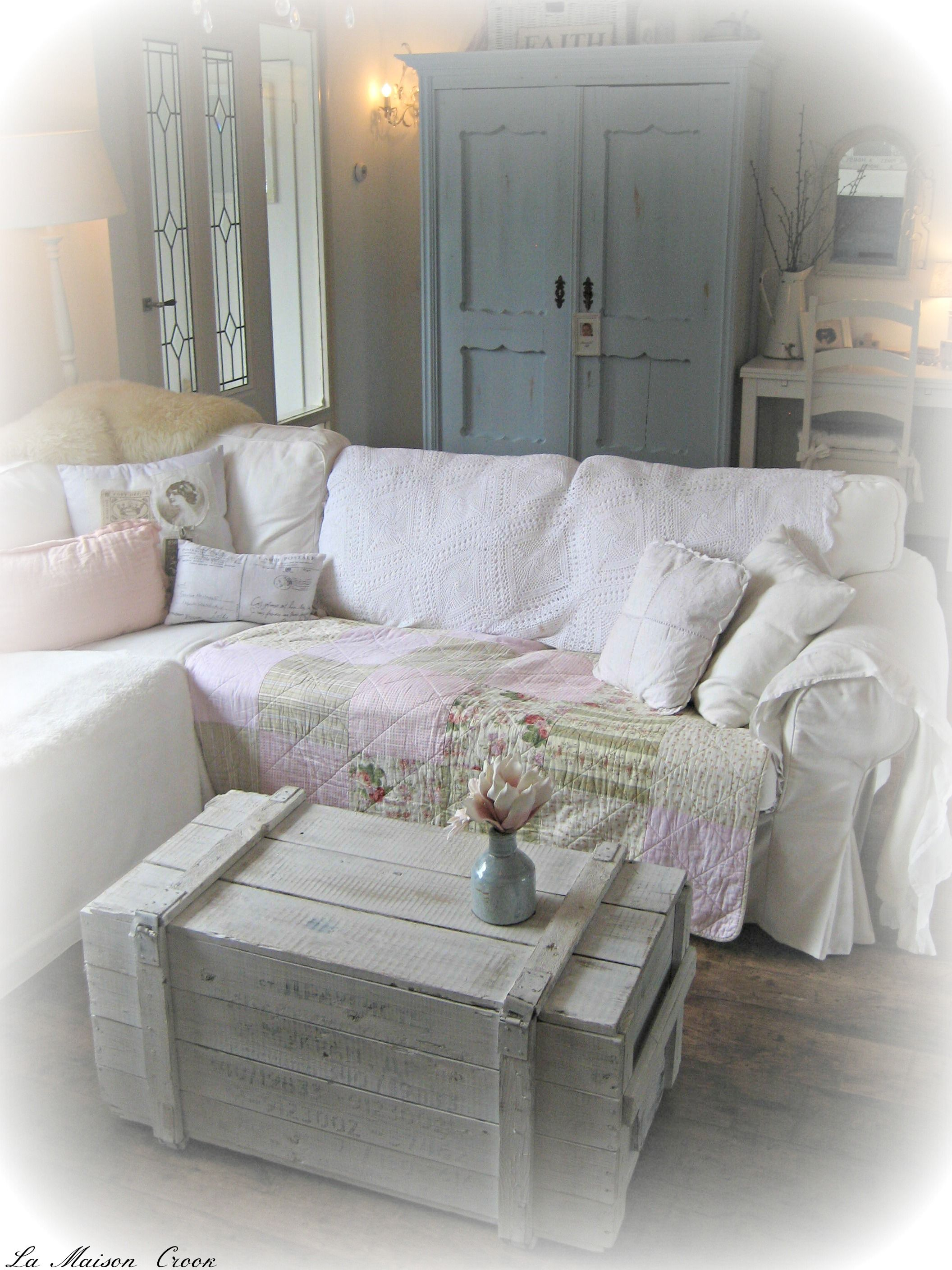 Shabby Chic Lounge Furniture: Brocante Woonkamer / Shabby Chic Living Room