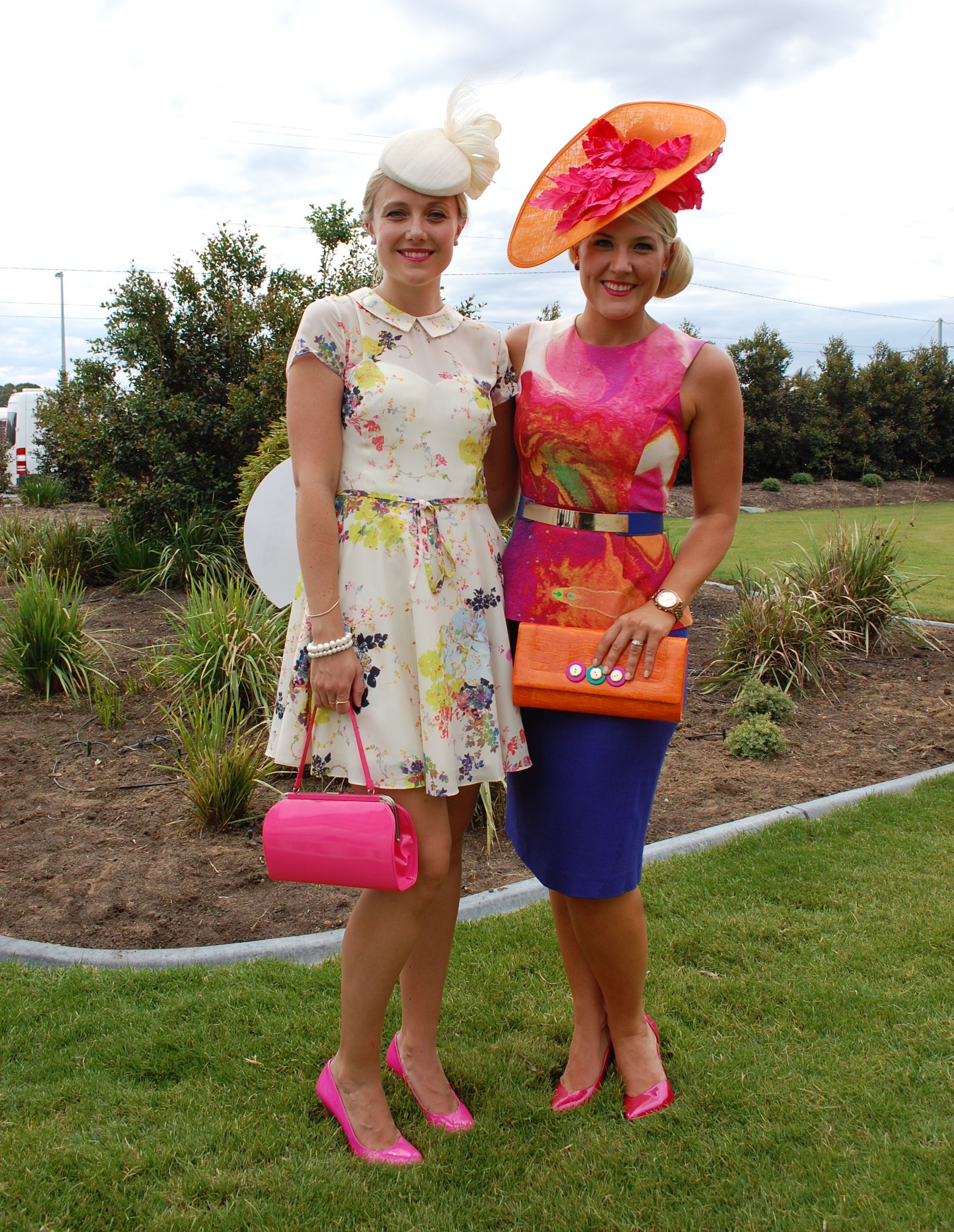 Adorn collection millinery left fashions on the field sa adelaide