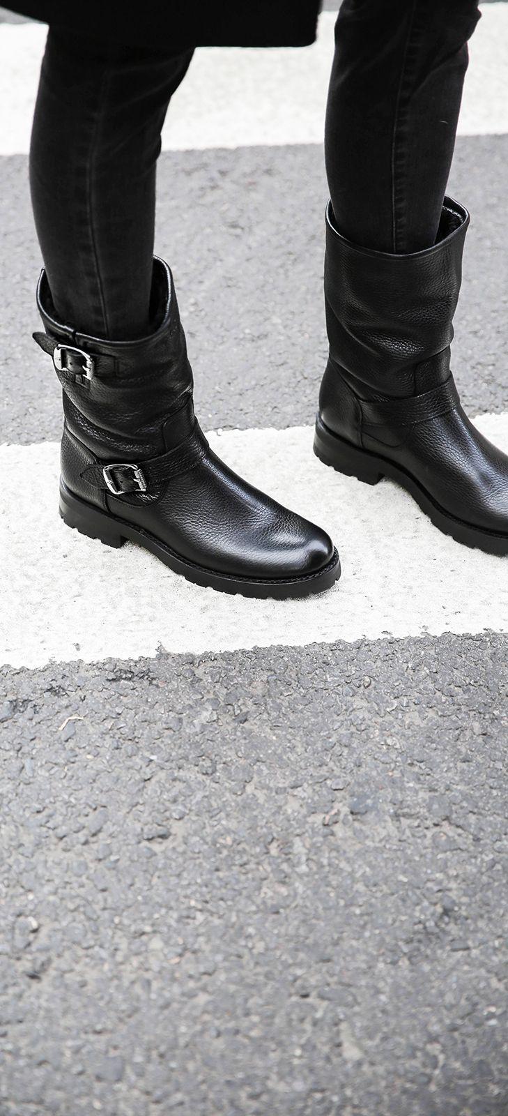 2dd00d4d96 Natalie Mid Engineer Lug Shearling | FRYE Since 1863 | Shoes ...