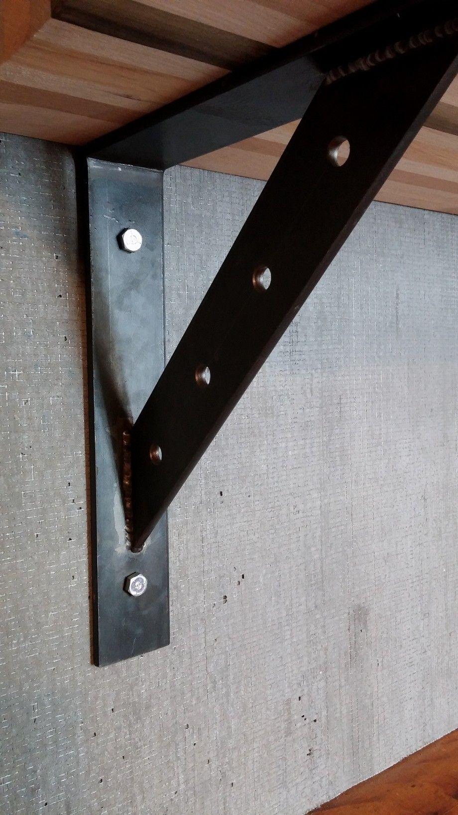 Modern Shelf Brackets   eBay   12th & Porter   Pinterest   Shelf ...