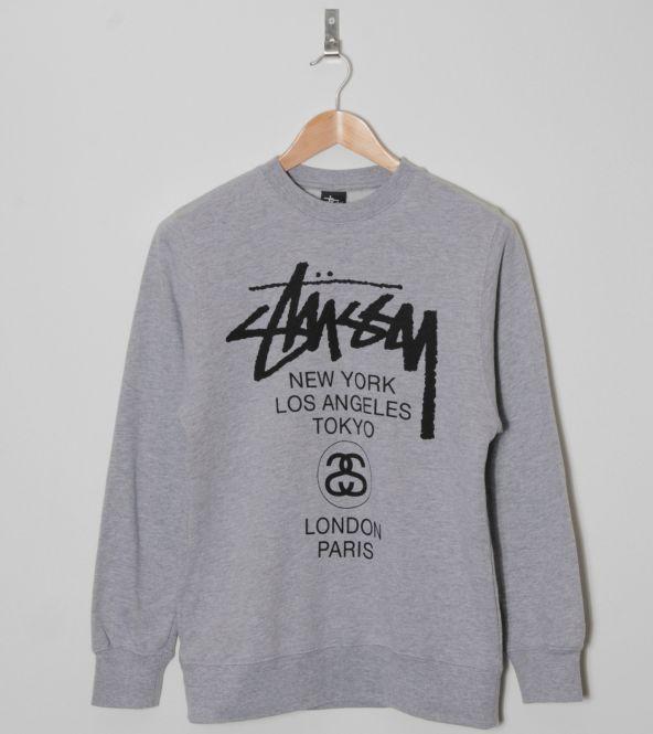 Stussy Stock Embroidered Hoodie Sweatshirt | Sweatshirt, Hoodie ...