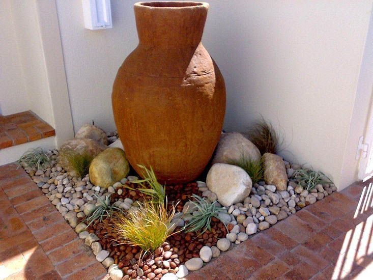 Great corner treatment landscaping cape town portfolio for Landscaping rocks cape town