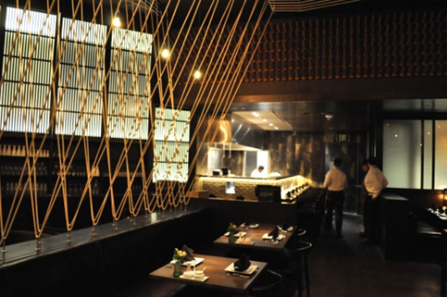Modern restaurant interior design with thai dining for Modern thai house design