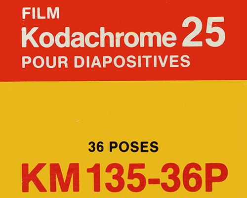 Kodak Kodachrome 25 French Vintage Film Box 35mm Film Etsy Vintage Film French Vintage Kodak