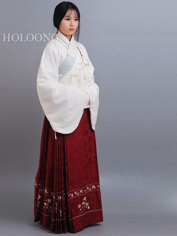 c6ea81e972 Embroidered Cotton-Linen Orient asian clothes Jacket Women Hanfu and ...