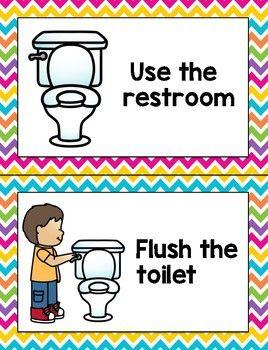 Bathroom Rules   Bathroom rules, Classroom bathroom