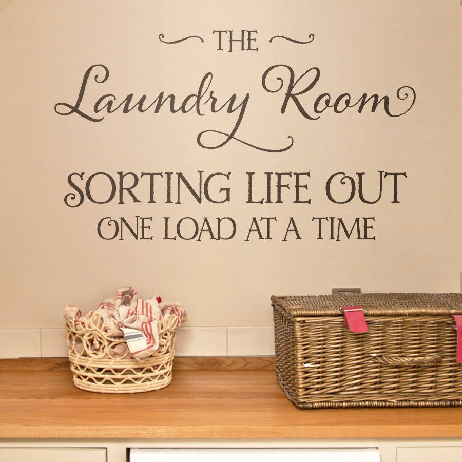 Stickers Laundry Room Laundry Room Wall Stickers  Peenmedia