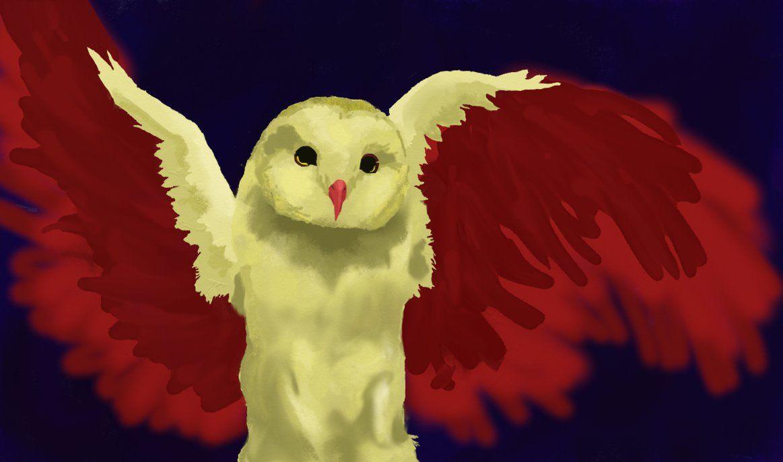 Blood Owl by Grim-Spades