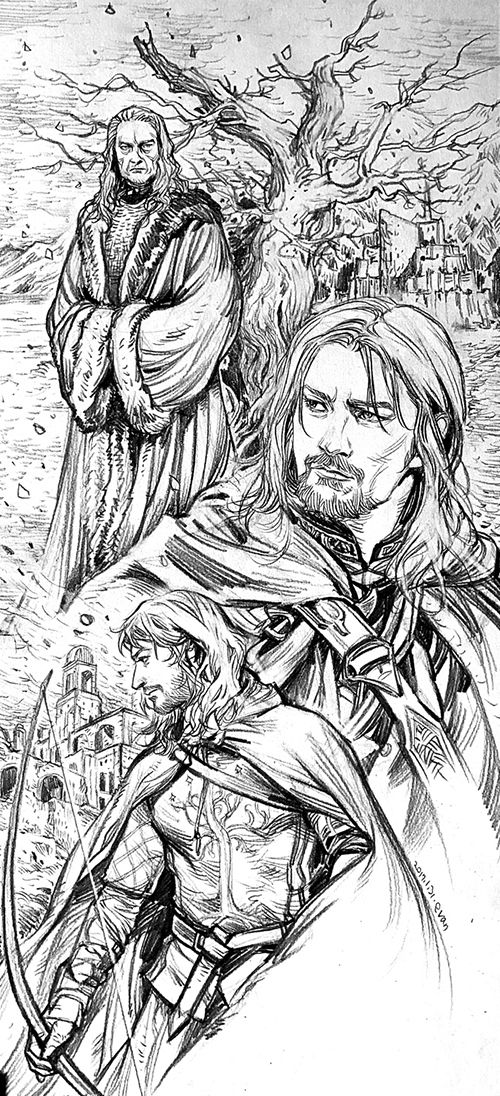 Stewards of Gondor by evankart   LOTR y Hobbit   Pinterest   El ...