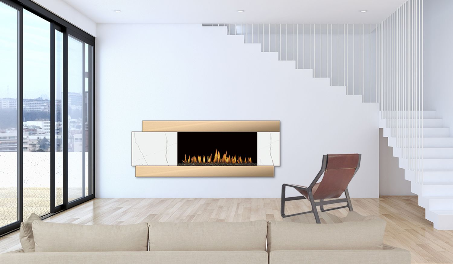 H Series By Fireplace Design Modern Fireplace Custom Fireplace