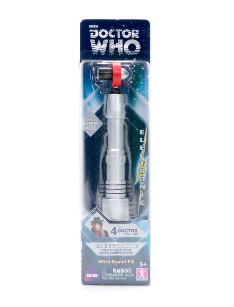 Doctor Who 4th Doctors Sonic Screwdriver - Officially Licensed