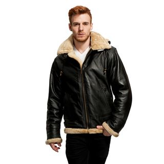 Wilda Men's B3 Leather Bomber Jacket by Wilda Leather | Shops ...