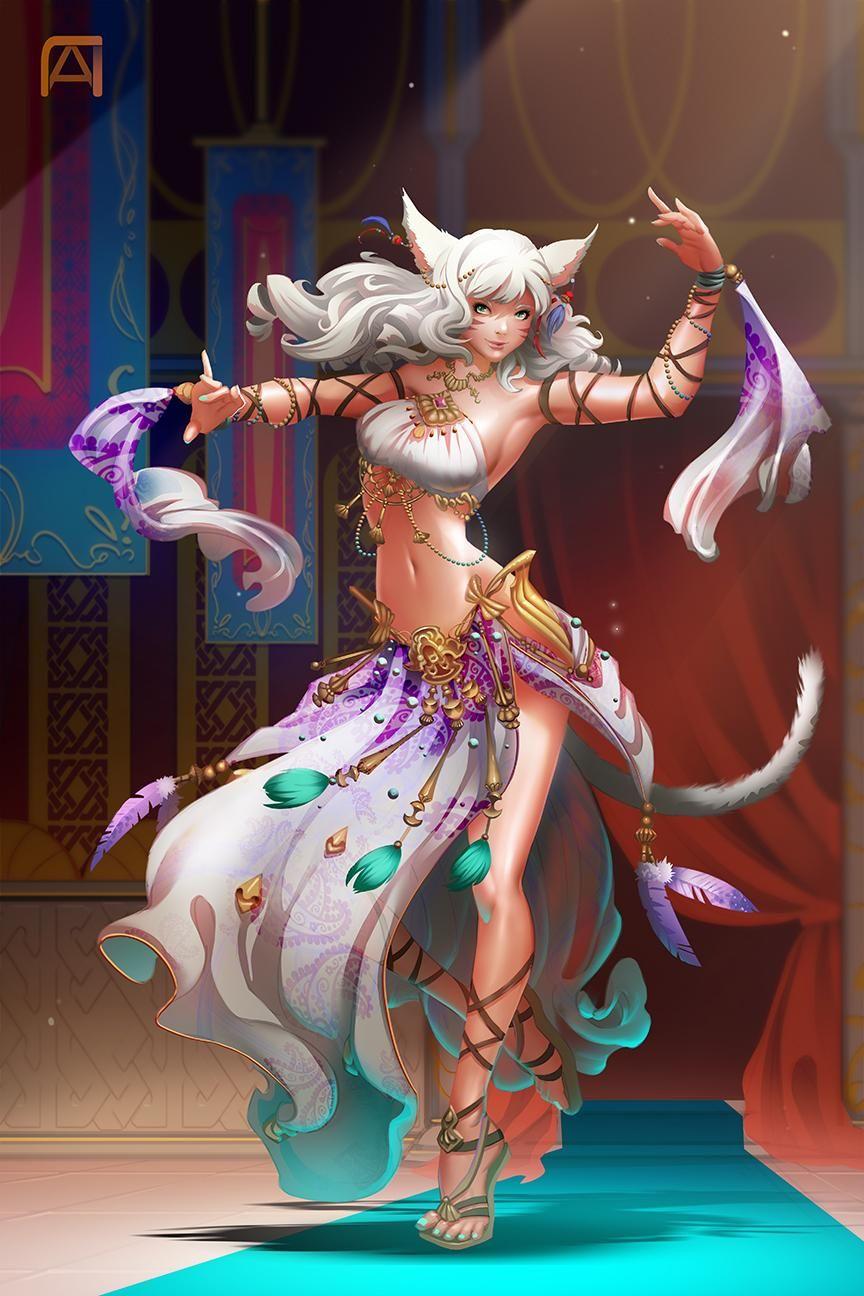 Final Fantasy X|V: Stormblood | beautiful in 2019 | Anime fantasy
