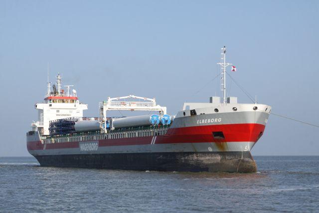 http://koopvaardij.blogspot.nl/2017/04/9-april-2017-aankomst-te-harlingen.html    ELBEBORG  Bouwjaar 2011, imonummer 9568249, grt 7680  Manager Wagenborg Shipping B.V., Delfzijl