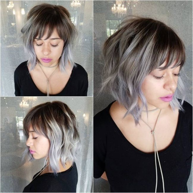 Magnifiques idées de couleurs pour cheveux courts et mi