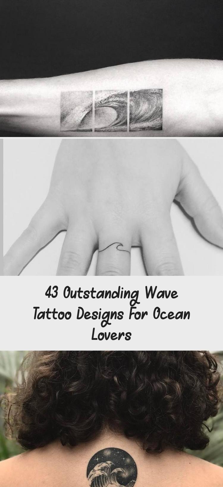 Photo of Little Wave Tattoo on Ankle by victoriascarlet93 #estimular #TattoosandBodyArtSm…