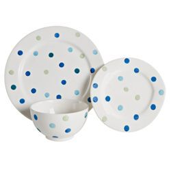 Tesco Circus 12 Piece 4 Person Dinner Set - Blue from Tesco direct  sc 1 st  Pinterest & Tesco Circus 12 Piece 4 Person Dinner Set - Blue from Tesco direct ...