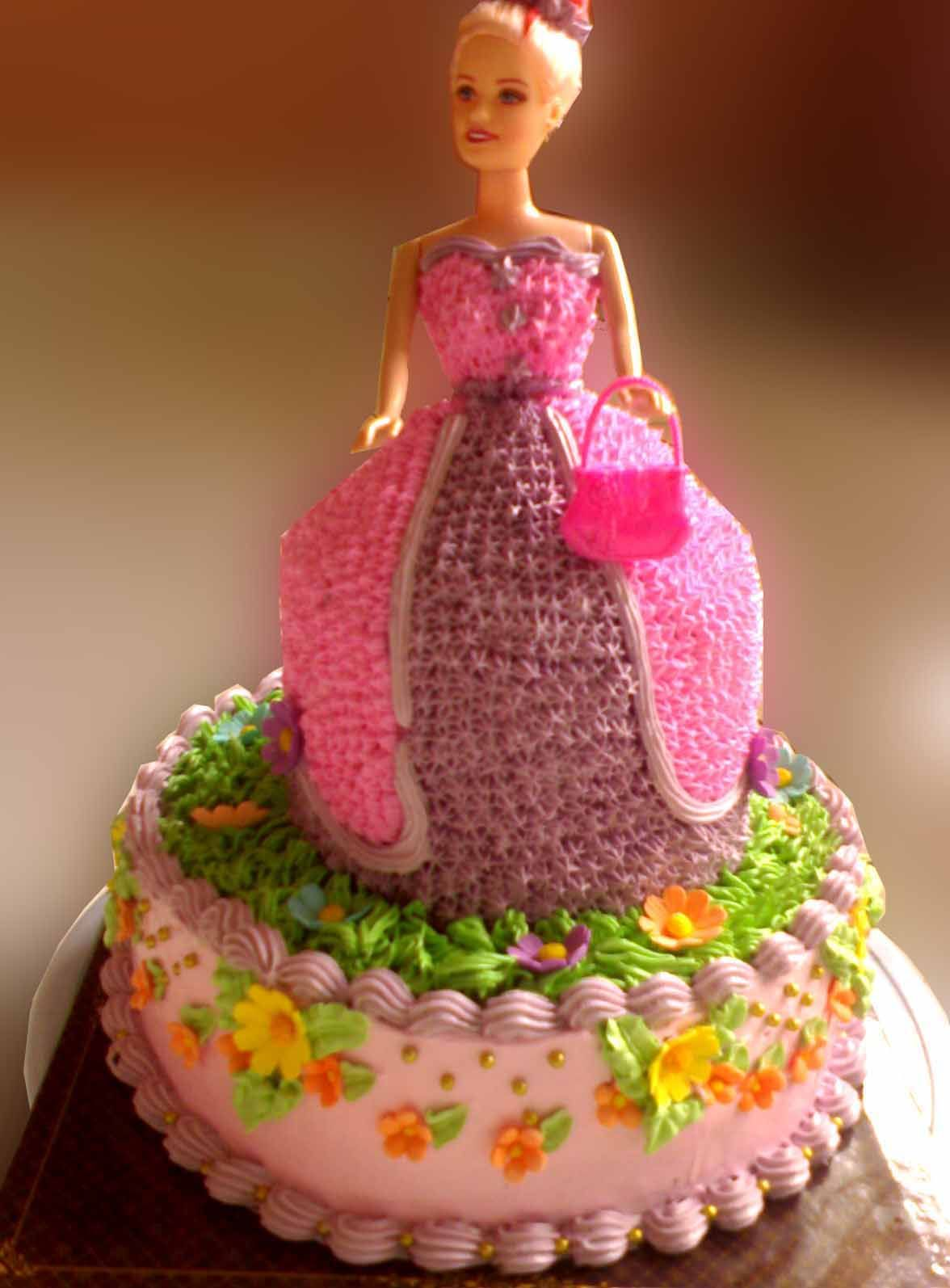 Doll Cake Images Download : Click here to download in HD Format >> Barbie Doll ...