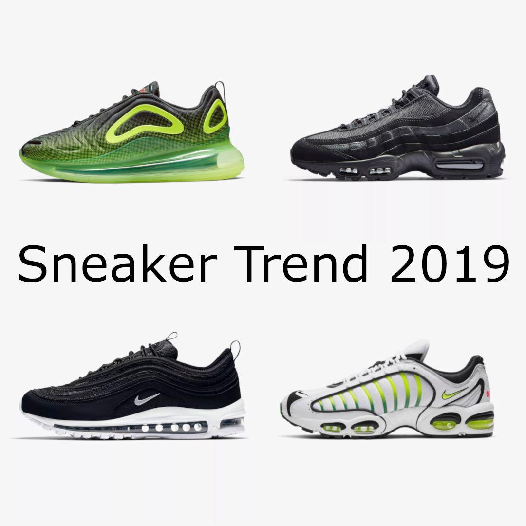 Die Sneaker Trends 2019 für Herren. Frischer Style auf
