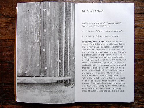 what wabi sabi is----a humble and imperfect definition :)
