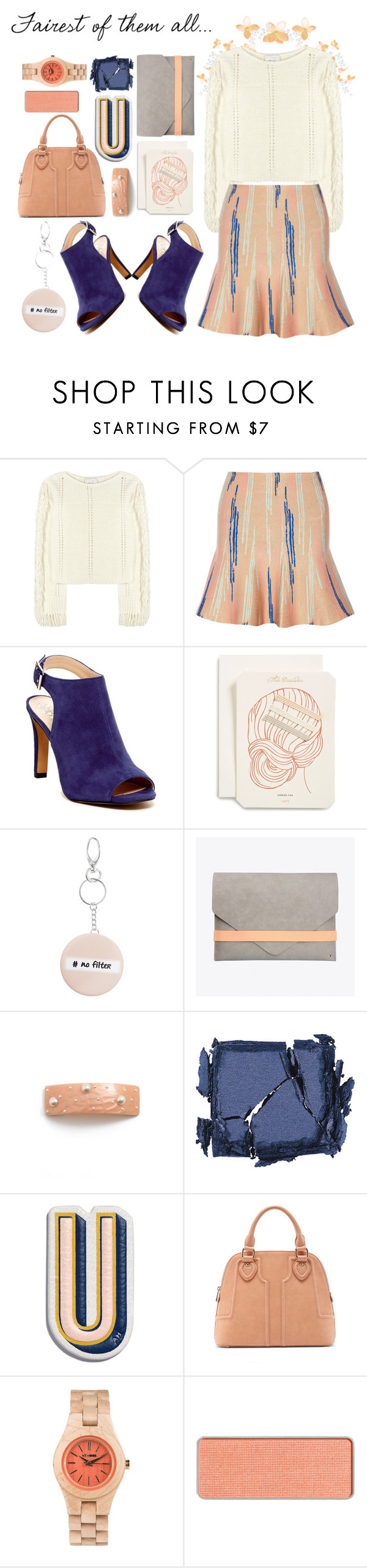 """""""Tell me."""" by vigilexi ❤ liked on Polyvore featuring 3.1 Phillip Lim, Issa, Vince Camuto, Odeme, Topshop, Kami, L. Erickson, Surratt, Anya Hindmarch and Sole Society"""
