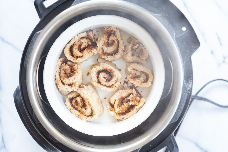 Vegan Gluten free Cinnamon Rolls Grainfree No Yeast - Vegan Richa