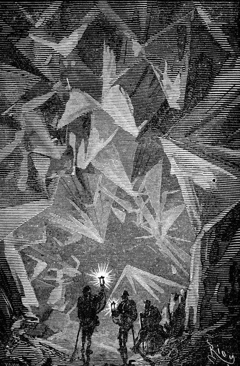 The Illustrated Jules Verne: Voyage au centre de la Terre | Literature art,  Earth illustration, Jules verne